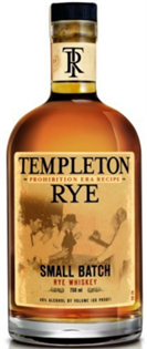 Templeton Rye Rye Whiskey Small Batch 750ml